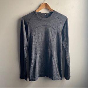 Lululemon Run Swiftly Tech Long Sleeve shirt gray